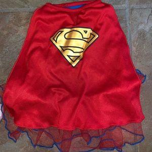 Superman dog Halloween dress